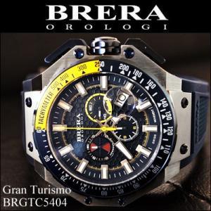 (レビューを書いて5年保証) 時計 (7) ブレラ オロロジ メンズ ネイビー ラバー (BRGTC5404) 父の日|ryus-select