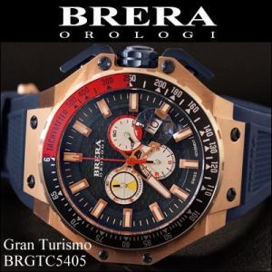 (レビューを書いて5年保証) 時計 (8) ブレラ オロロジ メンズ ネイビーピンクゴールド ラバー (BRGTC5405) 父の日|ryus-select
