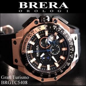 (レビューを書いて5年保証)  (40) ブレラ オロロジ メンズ 時計 ピンクゴールド ラバー (BRGTC5408) 父の日|ryus-select