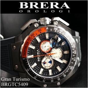 (レビューを書いて5年保証)  (41) ブレラ オロロジ メンズ 時計 グレーガンメタ グレーラバー (BRGTC5409) 父の日|ryus-select