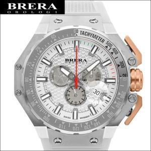 (レビューを書いて5年保証) 時計 (53) ブレラ オロロジ BRGTC5412 メンズ ホワイト ホワイト ラバー 父の日|ryus-select