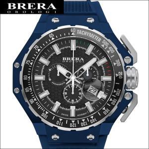 (レビューを書いて5年保証) 時計 (56) ブレラ オロロジ BRGTC5413 メンズ ネイビー ラバー 父の日|ryus-select