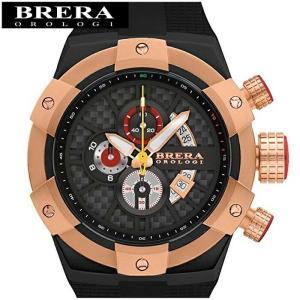 (73)ブレラ オロロジ BRSSC4923C メンズ 時計 ローズゴールド ラバー|ryus-select