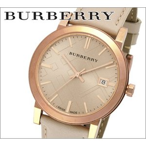 バーバリー BURBERRY メンズ 時計 ライトブラウンベージュレザー(BU9014)|ryus-select