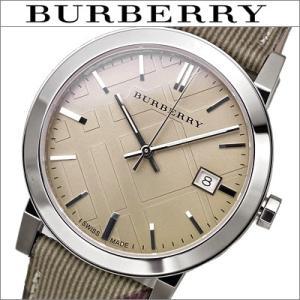 バーバリー/BURBERRY ボーイズ 男女兼用) 時計  BU9029 The City  シティ ベージュ/レザー/チェック|ryus-select
