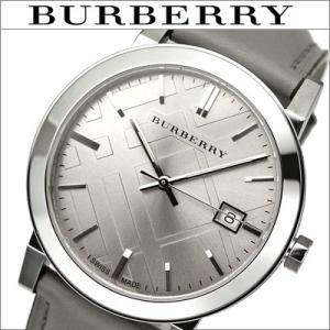 バーバリー/BURBERRY ボーイズ 男女兼用) 時計  BU9036 The City  シティ) シルバー×グレー|ryus-select