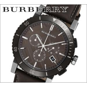 バーバリー BURBERRY メンズ 時計 グレーブラウンレザー(BU9384)|ryus-select