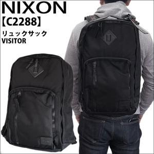 (1) ニクソン リュックサック C2288 ビジター ブラック|ryus-select