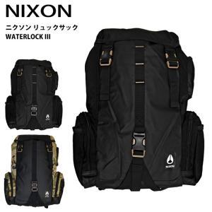 ニクソン NIXON リュックサック ウォーターロック3 鞄 バッグ バックパック デイパック|ryus-select