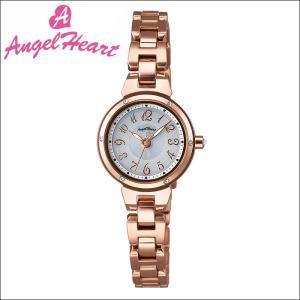 (ショップ袋付)エンジェルハート Angel Heartクリスタルブルーム 時計 腕時計 レディースCB22PG ソーラー電池 シルバー ピンクゴールド|ryus-select