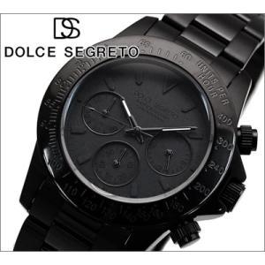 【当店ならお得クーポンあり】ドルチェ セグレート DOLCE SEGRETO メンズ 腕時計 CG100BB/オールブラック|ryus-select