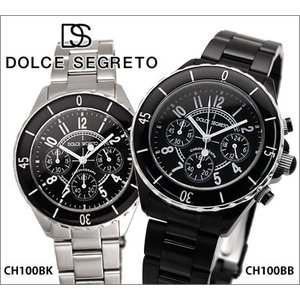 【商品入れ替えクリアランス】ドルチェ セグレート メンズ 腕時計  (CH100BB)|ryus-select