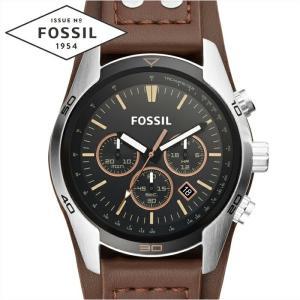 フォッシル FOSSIL CH2891時計 腕時計 メンズ ブラック ブラウン レザー|ryus-select