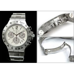 【商品入れ替えクリアランス】(新品)BVLGARI ブルガリ CH40WSSDTA(8) ディアゴノ 時計 腕時計 メンズ 自動巻き ホワイト シルバー 白い腕時計|ryus-select|03