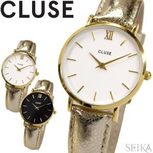 [2]クルース/CLUSE レディース 時計 Minuit(ミニュイ) レザー 33mm ryus-select