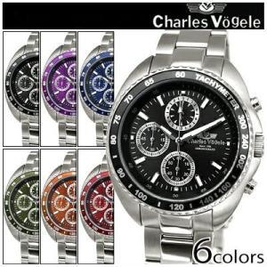 時計 シャルルホーゲル 腕時計 メンズ CV9047-3 CV9047-4 CV9047-5 父の日 ryus-select