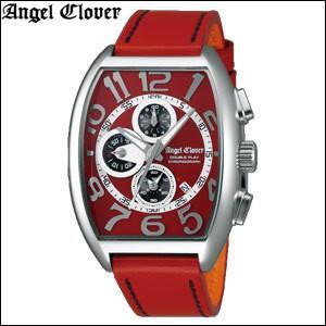 (レビューを書いて5年保証) 時計 エンジェルクローバー メンズ (DP38SRE-RE) レッド×シルバー レッドレザー 腕時計 父の日|ryus-select