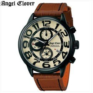 (レビューを書いて5年保証) (スプリングクリアランス) 時計 エンジェルクローバー DP44BSB-LB クリーム× ライトブラウン 腕時計 メンズ 父の日|ryus-select