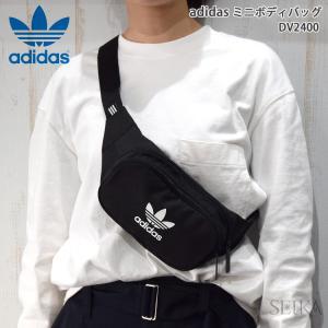 【当店ならお得クーポンあり】アディダス adidas ボディバッグ ミニウエストポーチDV2400 ブラック(36) ryus-select