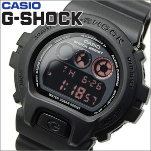 【クリアランス】【71】カシオ CASIO G-SHOCK Gショック 時計MAT BLACK RED EYE(マットブラック レッドアイ)【DW-6900MS-1】【並行輸入品】|ryus-select