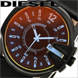 ディーゼル  メンズ  DZ1657/ ブラック/レザー 腕時計 時計DIESEL|ryus-select