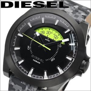 ディーゼル  メンズ  DZ1658/ ブラック/グレーカモフラージュ 腕時計 時計DIESEL|ryus-select