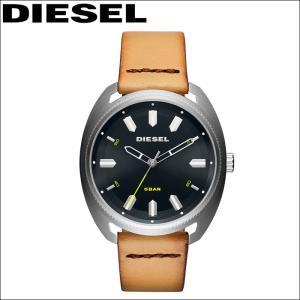 【商品入れ替えクリアランス】ディーゼル DIESEL  DZ1834 ファーストバック 時計 腕時計 メンズ ブラック ベージュ レザー|ryus-select
