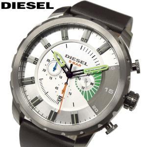 【クリアランス】ディーゼル DIESEL DZ4410ストロングホールド 時計 腕時計 ブラウン レザー(k-15)|ryus-select