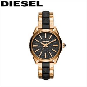 ディーゼル/DIESEL レディース 時計(DZ5473)ブラック(レザー)×ピンクゴールド/Nuki/ヌキボーイズ|ryus-select