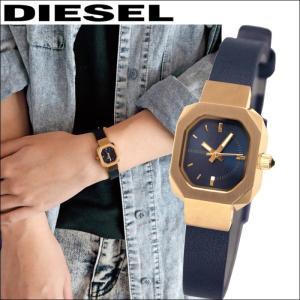 ディーゼル/DIESEL レディース 腕時計  (DZ5523)ネイビー×ピンクゴールド/ネイビーレザー Bad B(バッドB)|ryus-select