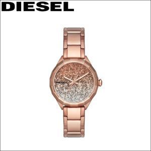 ディーゼル/DIESEL レディース 時計(DZ5539)ピンク/クリア(クリスタル)×ピンクゴールド/新品、本物、当店在庫だから安心|ryus-select
