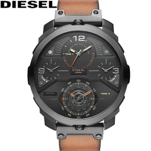 【クリアランス】 ディーゼル DIESEL DZ7359時計 腕時計 メンズ ブラウン レザー(k-15)|ryus-select