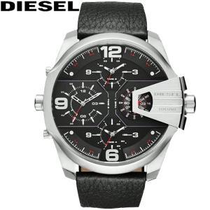 【商品入れ替えクリアランス】ディーゼル DIESEL DZ7376 時計 腕時計 メンズ ブラック レザー(k-15)|ryus-select