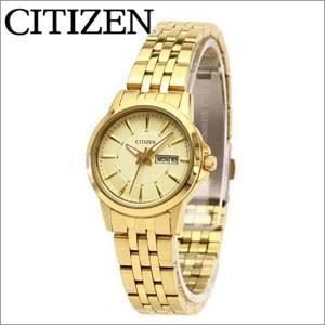 【クリアランス】シチズン CITIZEN レディース 時計【EQ0602-51P】ゴールド ryus-select