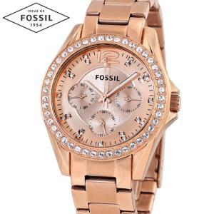 フォッシル FOSSIL ES2811時計 腕時計 レディースRILEY ライリー ピンクゴールド (k-15)|ryus-select