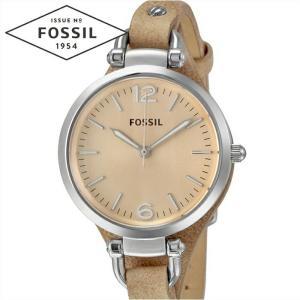 フォッシル FOSSIL ジョージア ES2830時計 腕時計  レディースベージュ レザー|ryus-select