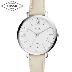 【当店ならお得クーポンあり】フォッシル FOSSIL ES3793時計 腕時計 レディースJacqueline ジャクリーン ホワイト レザー (k-15)|ryus-select