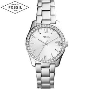 【当店ならお得クーポンあり】フォッシル FOSSIL ES4317時計 腕時計 レディーススカーレット SCARLETTE シルバー (k-15)|ryus-select