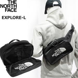 ノースフェイス ボディバッグ (27) NF0A3KYXKX7-OS TNF BLK ブラック EXPLORE BLT S ウエストポーチ|ryus-select