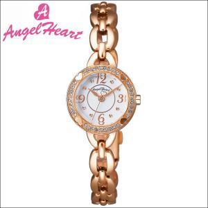 (ショップ袋付)エンジェルハート Angel Heartフォーハート 時計 腕時計 レディースFH22PW ホワイト ピンクゴールド|ryus-select