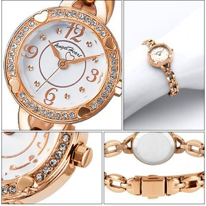 (ショップ袋付)エンジェルハート Angel Heartフォーハート 時計 腕時計 レディースFH22PW ホワイト ピンクゴールド ryus-select 02