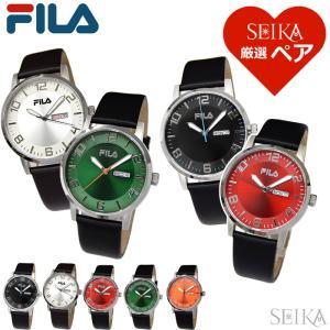 時計 (福袋特典付き ) ペアウォッチ フィラ FILA38-107 001 002 004 005 006腕時計 メンズ レディース (SEIKA厳選ペア)|ryus-select