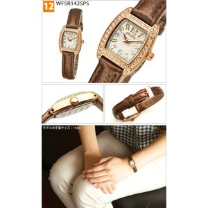 (クリアランス) フォリフォリ 腕時計レディース 時計 【WF9E004BDK(15)】 ブラック|ryus-select|03