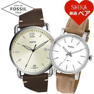 【当店ならお得クーポンあり】ペアウォッチ フォッシル  FS5275 メンズ ES4179 レディース  腕時計  【SEIKA厳選ペア】 ryus-select