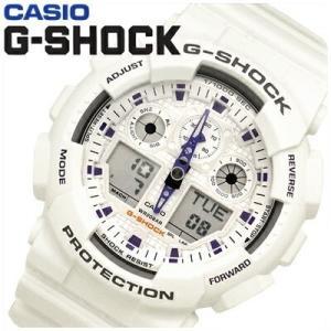 【81】カシオ CASIO Gショック 時計 GA-100A-7A アナログ&デジタル 並行輸入品 20気圧防水|ryus-select