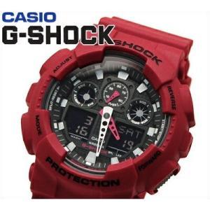 【11】カシオ CASIO Gショック 腕時計 アナログ&デジタル GA-100B-4AER 並行輸入品 20気圧防水|ryus-select