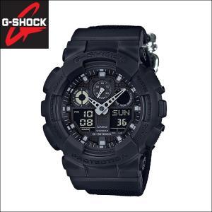(133)カシオ CASIO G-SHOCK Gショック GA-100BBN-1A 時計 腕時計 メンズ アナデジ ブラック 20気圧防水 200M防水 ryus-select