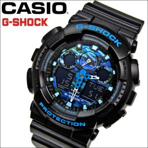 (レビューを書いて5年保証) 時計 (137) カシオ CASIO G-SHOCK Gショック GA-100CB-1ADR 腕時計 メンズ ブラック 20気圧防水 200M防水 父の日 ryus-select