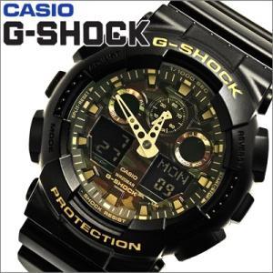 【92】カシオ/CASIO G-SHOCK/Gショック メンズ 時計 GA-100CF-1A9/カモフラージュダイアルシリーズ【並行輸入品】|ryus-select