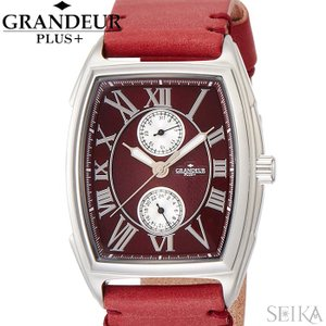 グランドールプラス GRANDEUR PLUS+ メンズ 時計【GRP006W2】レッド レザー|ryus-select
